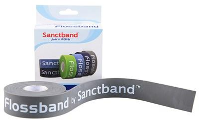 Kompresní guma Flossband by Sanctband, 2,5 cm x 2 m, mocca, super silná