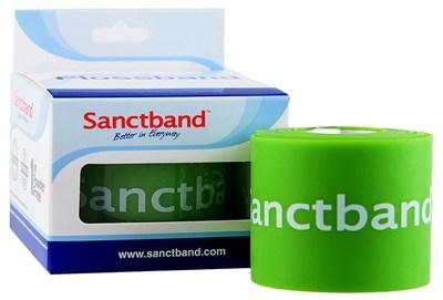 Kompresní guma Flossband by Sanctband, 5 cm x 2 m, limetka, slabá