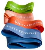 Cvičební guma Sanctband Loop (smyčka), pomeranč, středně silná - další obrázek