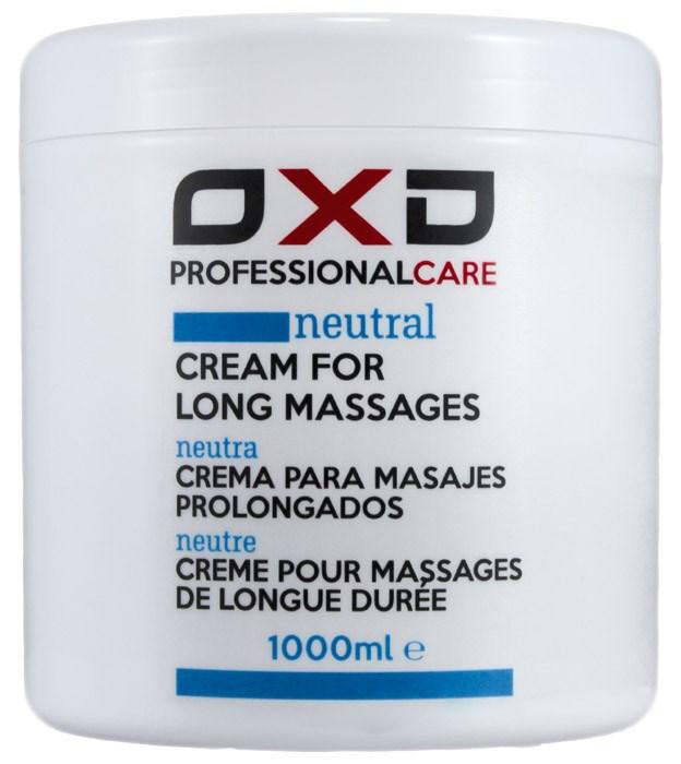 OXD masážní krém Neutral, pro delší masáž, 1 l