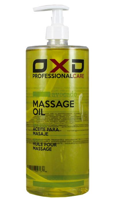 OXD masážní olej Avokádo, 1 l