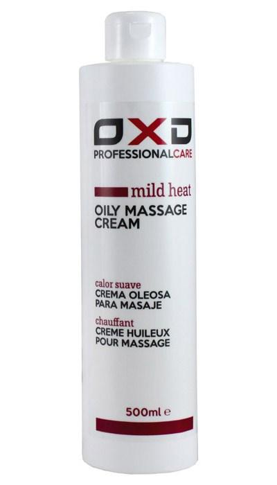 OXD masážní olej jemně hřejivý, krémový, 500 ml
