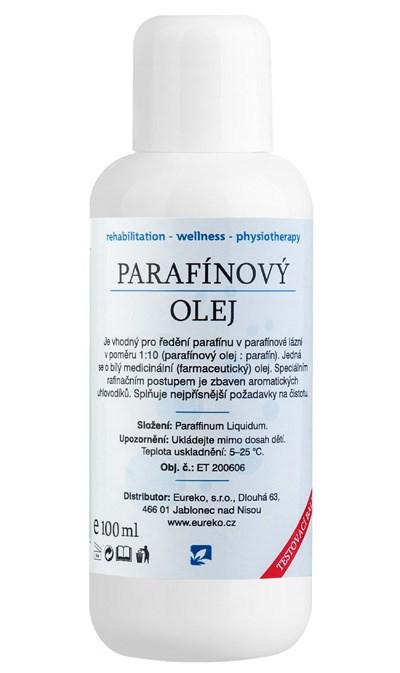 Parafínový olej, 100 ml - testovací balení