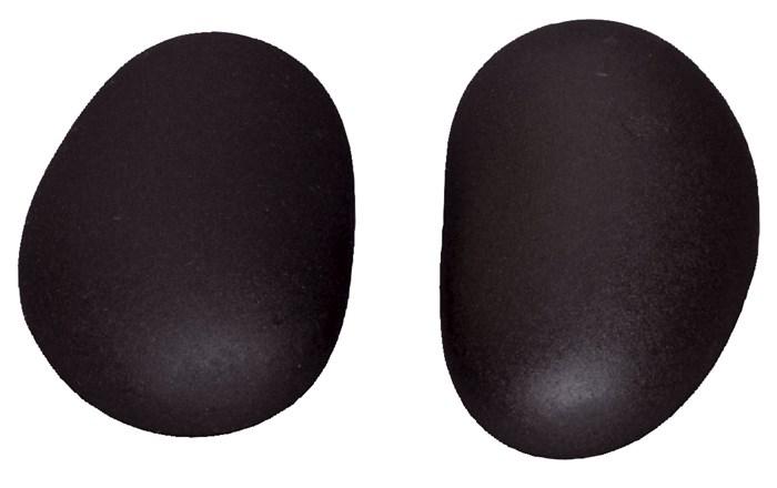 Lávové kameny Hot Stone Premium, chodidlové, 9,5-11,5 cm, 2 ks