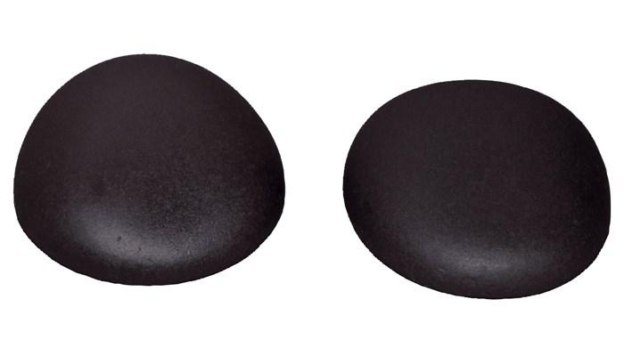 Lávové kameny Hot Stone Premium, dlaňové/hýžďové, 8-9,5 cm, 2 ks