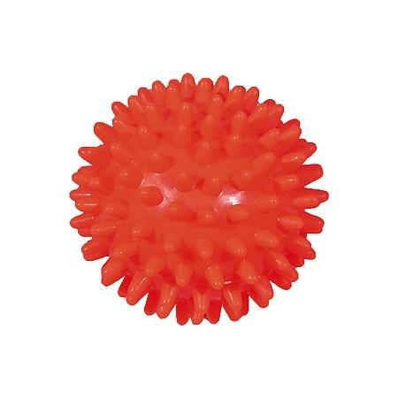 Masážní míček, ježek, 70 mm, oranžový
