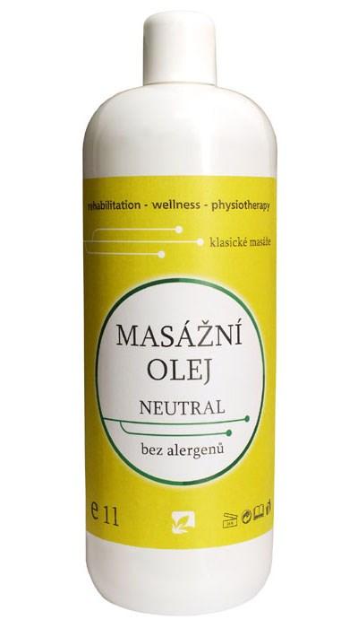 Masážní olej Neutral, 1 l