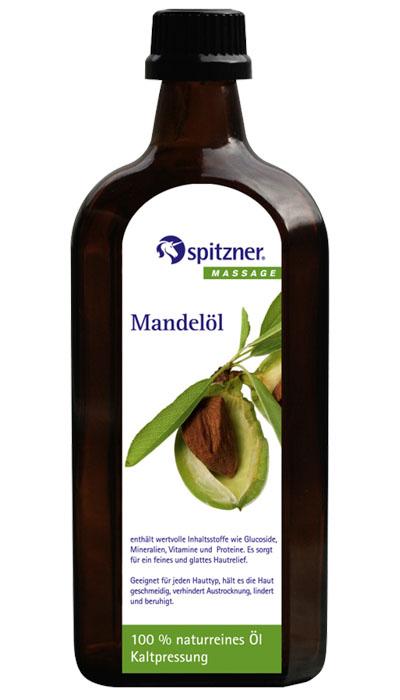 Spitzner Masážní olej panenský mandlový, 500 ml