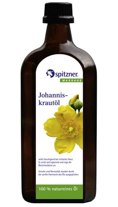Masážní olej panenský olivový s třezalkou, 500 ml