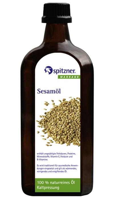 Masážní olej panenský sezamový, 500 ml