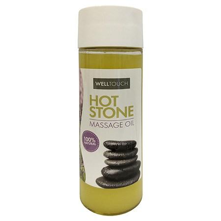 Masážní olej pro masáž lávovými kameny Hot Stone, 200 ml