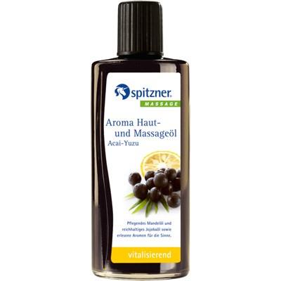 Masážní olej Wellness Acai - Yuzu, 190 ml