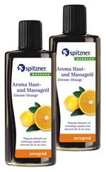 Masážní olej Wellness Citron - Pomeranč, 190 ml - další obrázek