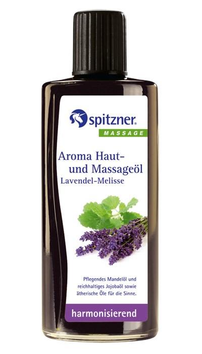 Masážní olej Wellness Levandule - Meduňka, 190 ml