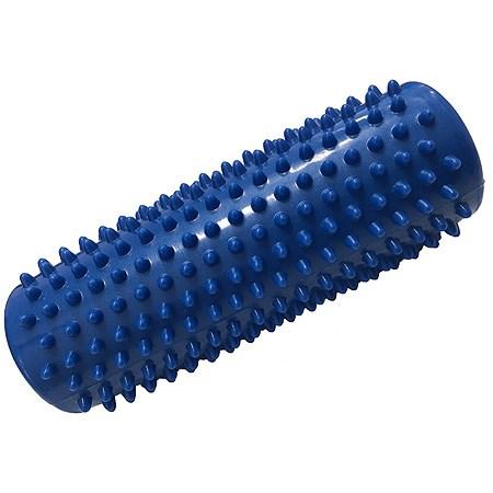 Masážní váleček, tvrdý, 15 cm, modrý