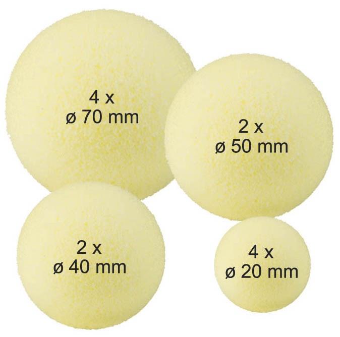 Set míčků pro facilitaci horních končetin
