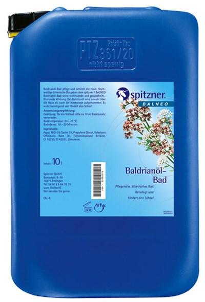 Koupelový olej Baldrián, 10 l