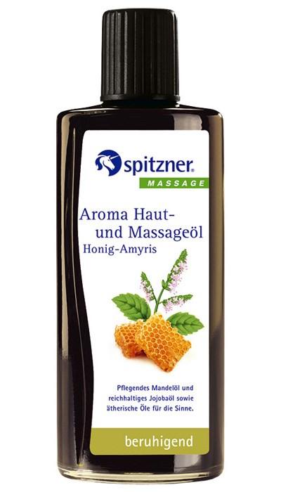 Masážní olej Wellness Med - Amyris, 190 ml