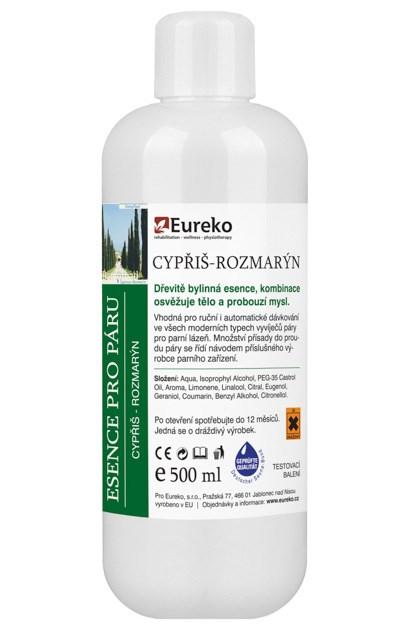 Esence do parní lázně Cypřiš - Rozmarýn, 250 ml - testovací balení