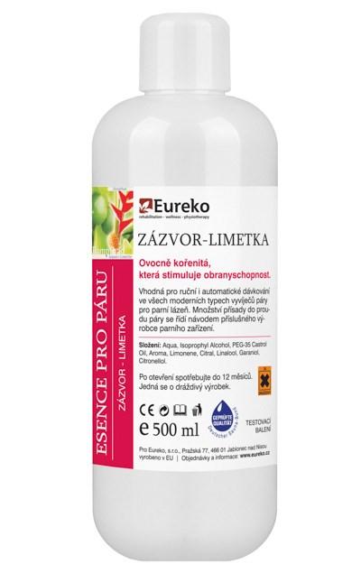 Esence do parní lázně Zázvor - Limetka, 250 ml - testovací balení