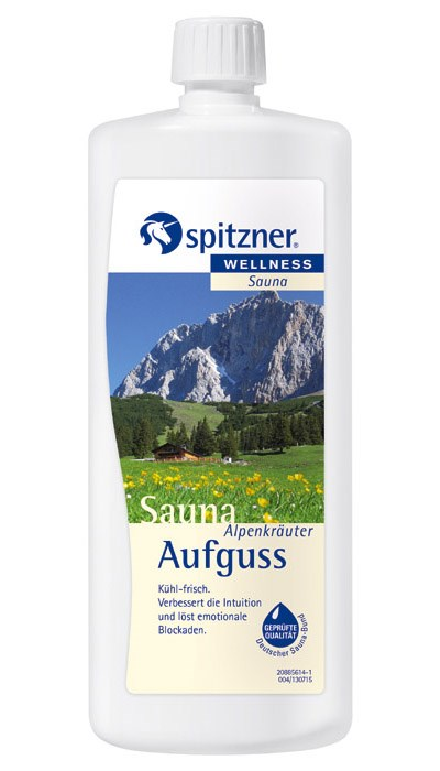 Esence do sauny Alpské bylinky, 1 l