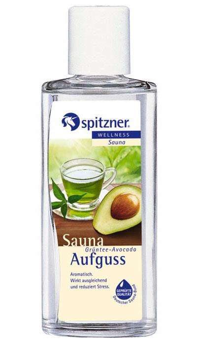 Spitzner Esence do sauny Zelený čaj - Avokádo, 190 ml