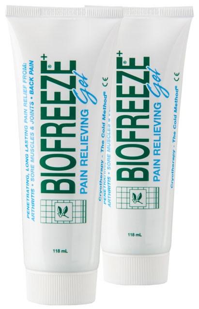 Chladivý gel Biofreeze, 2 ks