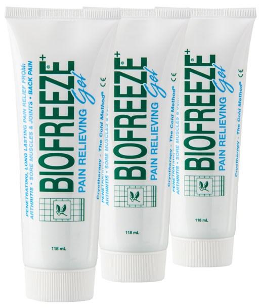 Chladivý gel Biofreeze, 3 ks