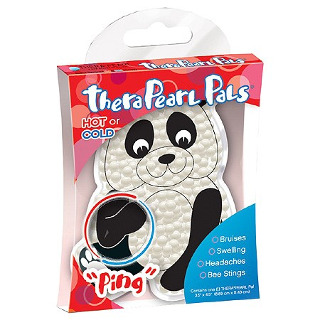 Polštářek teplo/chlad pro děti, 8,9 x 11,4 cm, panda