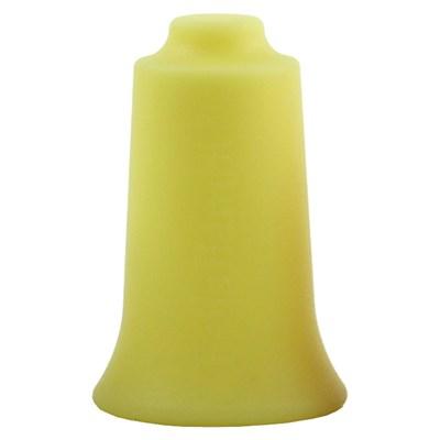 Masážní baňka BellaBambi Sensitive 35 mm žlutá