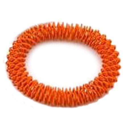 Masážní náramek oranžový