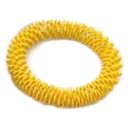 Masážní náramek žlutý