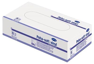 Vinylové rukavice bez pudru, nesterilní, vel. M, 100 ks