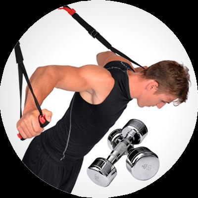 Cvičební a posilovací pomůcky