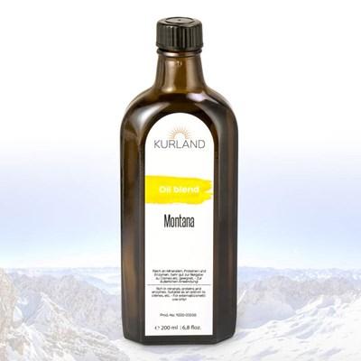Masážní olej Montana, 200 ml