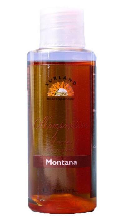 Masážní olej Montana, 50 ml
