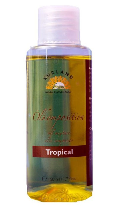 Masážní olej Tropical, 50 ml