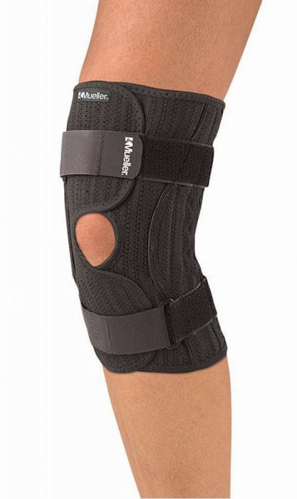 Ortéza na koleno se suchým zipem MUELLER KNEE BRACE ELASTIC, S/M-L/XL