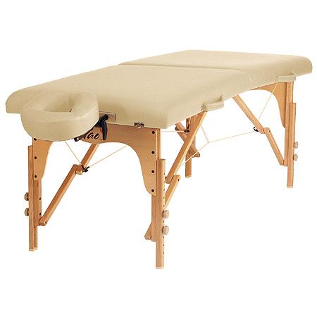 Taoline skládací dřevěné lehátko RELAX, 70 x 185 cm, béžová