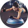 Tipy na cviky s balanční podložkou nejen na břicho - Obrázek