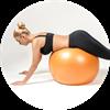 Tipy na cviky s gymnastickým míčem - Obrázek