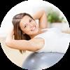 Proč používat na cvičení gymnastický míč - Obrázek